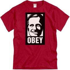 Obey Romney