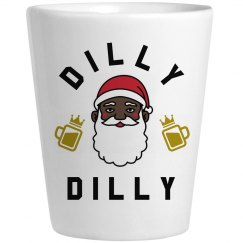 Funny Black Santa Dilly Dilly