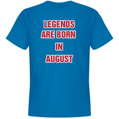 LEGENDS August Tee (Blue & Red)