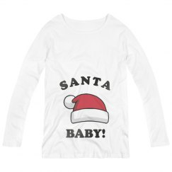 Little Santa Baby Is Coming Soon