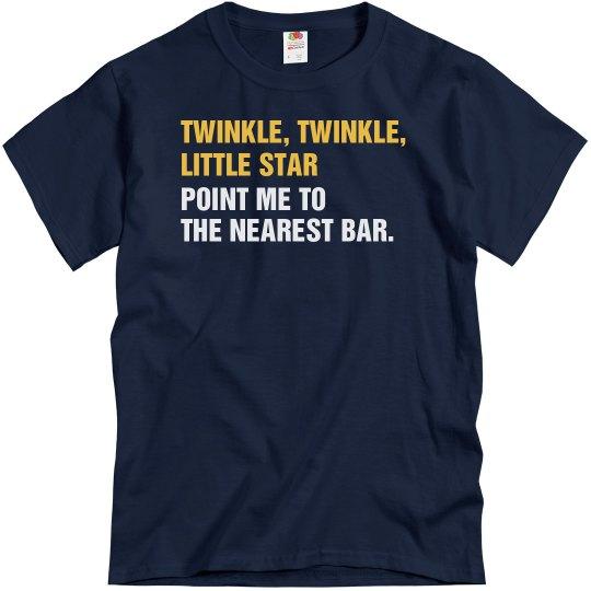 98f083c1e Twinkle, Twinkle, Bar Unisex Basic T-Shirt