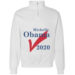 Michelle Obama 2020 ✔️ Comfy White Sweatshirt