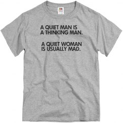 A Quiet Man/Woman
