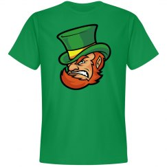 Mean Green Leprechaun Graphic