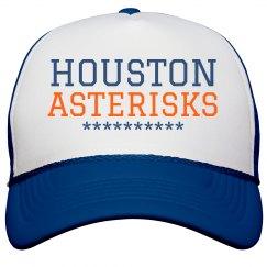 Houston Asterisks Baseball Cap