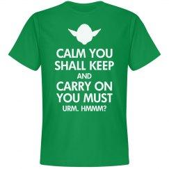 Keep Calm Yoda