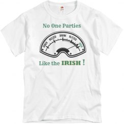 Irish meter shirt