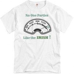 Irish meter shirt