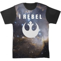 Galaxy Rebel Allover Print Shirt