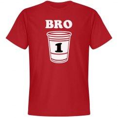 1 Drunk Bro Matching Tees