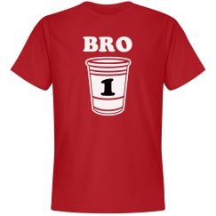 1 Drunk Bro Matching Tees
