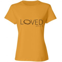 Loved - John 3:16 Shirt