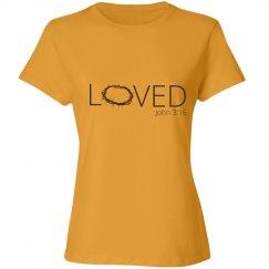Loved - John 3:16 Shirt
