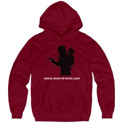 Mom-At-Arms Standard Fit Hoodie