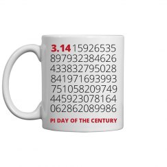 PI DAY OF THE CENTURY!