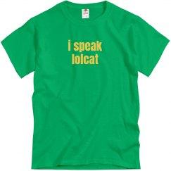 I Speak Lolcat