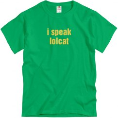 I Speak Lolcat