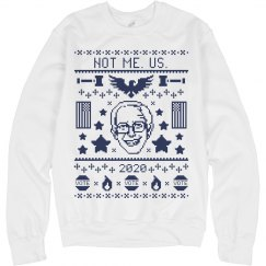 Not Me. Us. Bernie Sanders 2020 Ugly Sweater