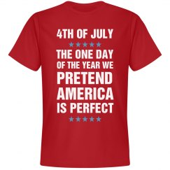 Funny We Pretend America Is Perfect