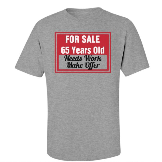 65 year old for sale