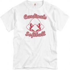 Cardinals Softball Tee