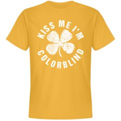 Colorblind Kiss Me I'm Yellow
