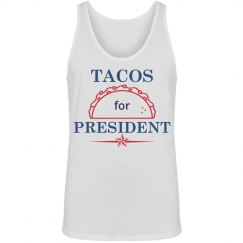 Tacos For President Tank