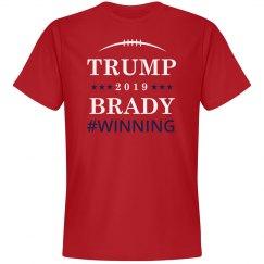 Trump And Brady Winning 2017