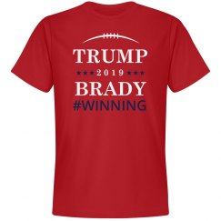 Trump And Brady Winning 2019