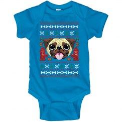 Pug Christmas Onesies