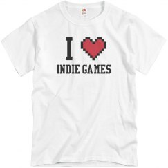 I Heart Indie Games T-Shirt