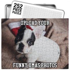 Funny Custom Xmas Puzzle