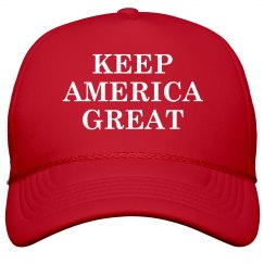 Keep America Great MAGA Hat
