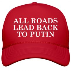 All Roads Lead Mage to Putin Maga Hat
