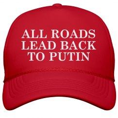 All Roads Lead Mage to Putin Maga Hat