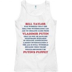 Worries About Trump Being Putin's Puppet