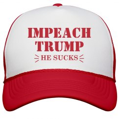 Impeach Trump Because He Sucks