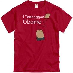 I Teabagged Obama
