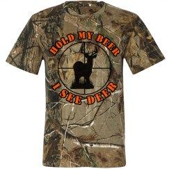 Hold My Beer I See Deer