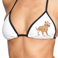Dog Lover Swim Top