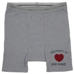 Property of Valentine Undies