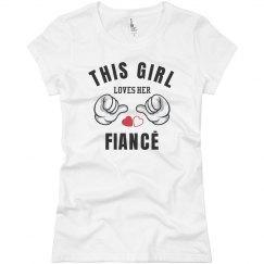 Girl loves her Fiance
