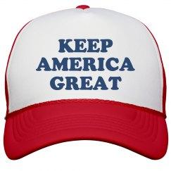 Keep America Great Trump Hat