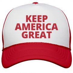 Trump New Slogan America The Great