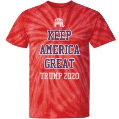 Patriotic Trump Keep America Great