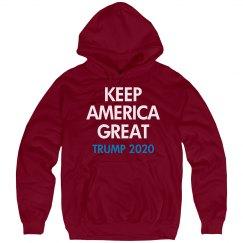 Keep America Great Trump Hoodie