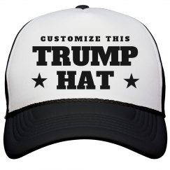 c30b058249d Custom Donald Trump Hat