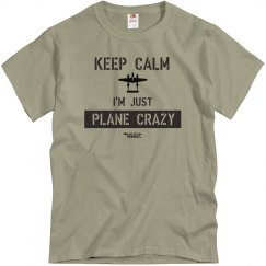 Keep Calm - Plane Crazy