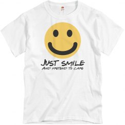 Just Smile T-Shirt