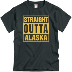 Straight Outta Alaska T-Shirt
